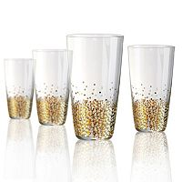 Artland Ambrosia 4-pc. Highball Glass Set