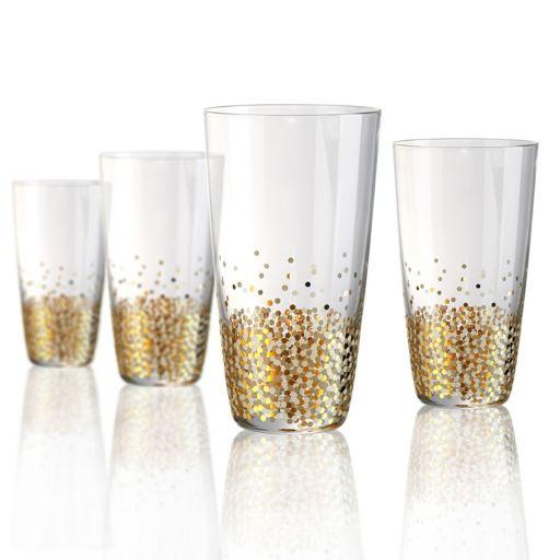 Artland Ambrosia 4-pc. Highball Glass Set