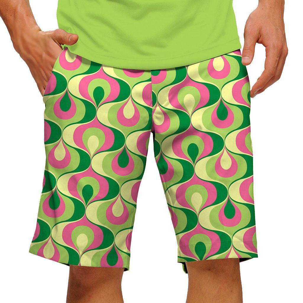 Men's Loudmouth Ribbon Candy Golf Shorts