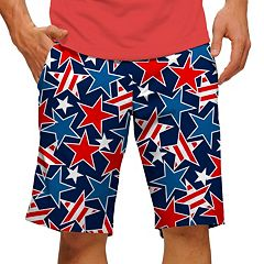 Men's Loudmouth Star Studded Golf Shorts