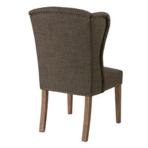 Madison Park Lydia Tufted Wing Back Dining Chair
