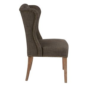 Madison Park Lydia Tufted Wing Back Dining Chair Kohls