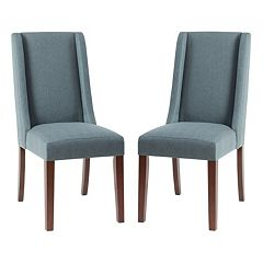 Madison Park Wing Back Dining Chair 2-piece Set