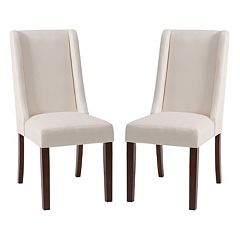 Madison Park Wing Back Dining Chair 2 pc Set