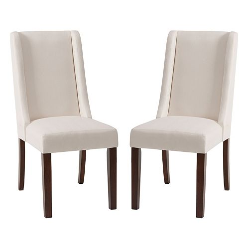 Madison Park Wing Back Dining Chair 2 Piece Set