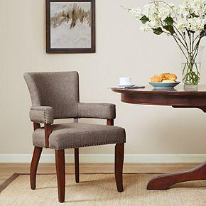 Madison Park Parler Arm Dining Chair