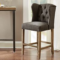 Madison Park Lydia Wing Back Counter Stool