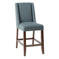 Madison Park Victor Wing Back Counter Stool