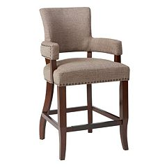 Madison Park Parler Arm Counter Stool