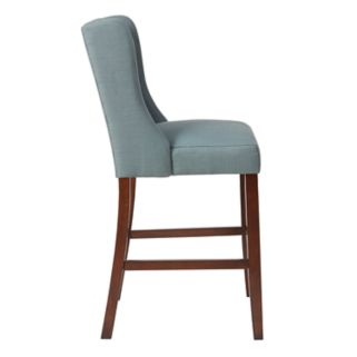 Madison Park Aida Tufted Bar Stool