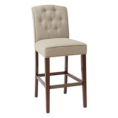Madison Park Misha Tufted Bar Stool