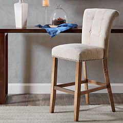 Madison Park Weldon Roll Back Bar Stool