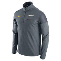 Men's Nike Milwaukee Brewers Elite Half-Zip Pullover