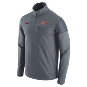 Men's Nike St. Louis Cardinals Elite Half-Zip Pullover