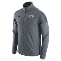 Men's Nike Washington Nationals Elite Half-Zip Pullover