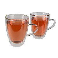 Artland Borosilicate 2 pc Tea Mug