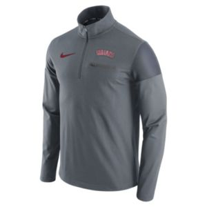 Men's Nike Cleveland Indians Elite Half-Zip Pullover