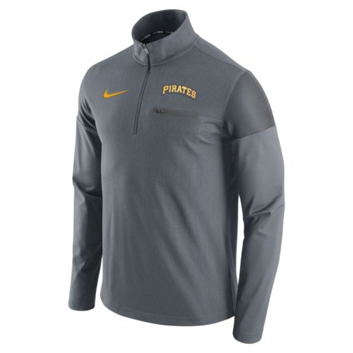 Men's Nike Pittsburgh Pirates Elite Half-Zip Pullover