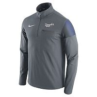 Men's Nike Kansas City Royals Elite Half-Zip Pullover