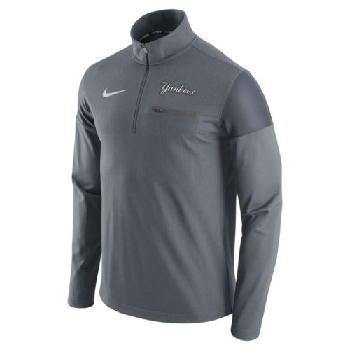 Men's Nike New York Yankees Elite Half-Zip Pullover