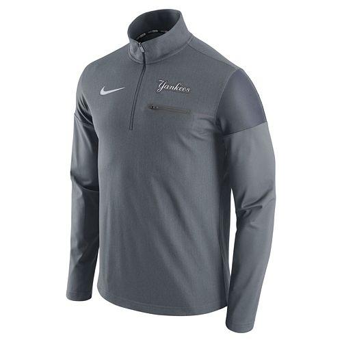 Men's Nike New York Yankees Elite Half-Zip Pullover