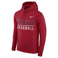 Men's Nike Los Angeles Angels of Anaheim Circuit Performance Hoodie