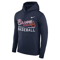 Men's Nike Atlanta Braves Circuit Performance Hoodie