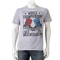 Men's Rock 'Em Sock 'Em Robots Tee