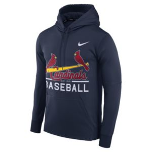 Men's Nike St. Louis Cardinals Circuit Performance Hoodie