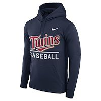Men's Nike Minnesota Twins Circuit Performance Hoodie