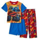 Toddler Boy Blaze and the Monster Machines 3-pc. Blaze, Zeg & Darrington Pajama Set