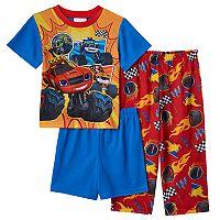 Toddler Boy Blaze and the Monster Machines 3-pc. Blaze, Zeg & Darrington Pajama Set