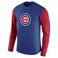 Men's Nike Chicago Cubs Modern Waffle Fleece Sweatshirt
