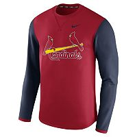 Men's Nike St. Louis Cardinals Modern Waffle Fleece Sweatshirt