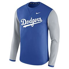 Men's Nike Los Angeles Dodgers Modern Waffle Fleece Sweatshirt
