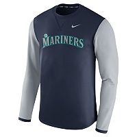 Men's Nike Seattle Mariners Modern Waffle Fleece Sweatshirt