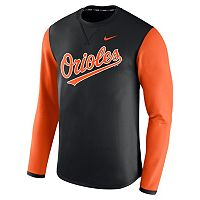 Men's Nike Baltimore Orioles Modern Waffle Fleece Sweatshirt