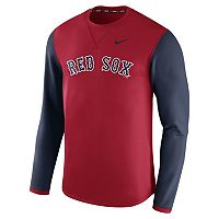 Men's Nike Boston Red Sox Modern Waffle Fleece Sweatshirt