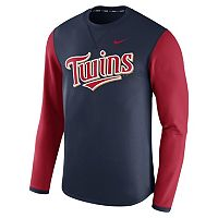 Men's Nike Minnesota Twins Modern Waffle Fleece Sweatshirt