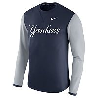 Men's Nike New York Yankees Modern Waffle Fleece Sweatshirt