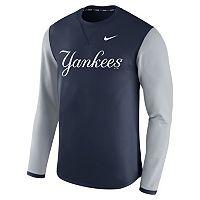 Men's Nike New York Yankees Modern Waffle Fleece Sweatshirt