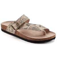SONOMA Goods for Life™ Women's Buckle Flip-Flops
