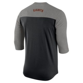 Men's Nike San Francisco Giants Dri-FIT Henley