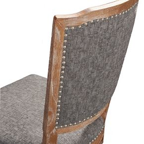 Linon Nottingham Tufted Dining Chair 2-piece Set