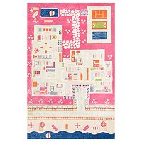 nuLOOM Kinderway Summertime Playhouse Rug