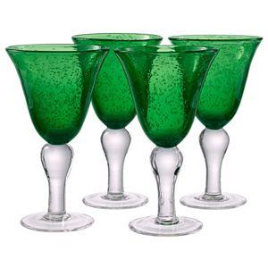 Artland Iris 4-pc.  Goblet  Glass Set