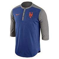 Men's Nike New York Mets Dri-FIT Henley