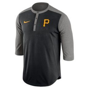Men's Nike Pittsburgh Pirates Dri-FIT Henley