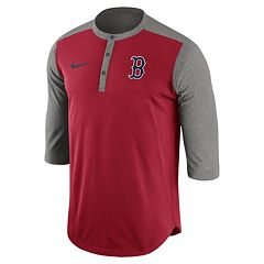 Men's Nike Boston Red Sox Dri-FIT Henley