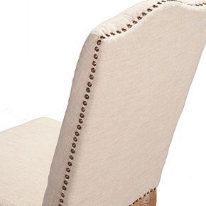 Linon Portsmouth Square Back Accent Chair 2-piece Set